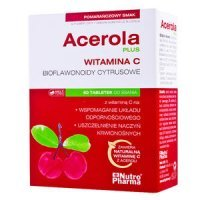 Acerola Plus, 60 tabletek do ssania