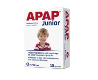 Apap Junior, granulat, 250 mg, 10 saszetek