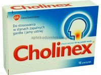 Cholinex, 16 pastylek do ssania