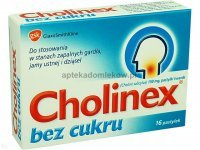 Cholinex b/cukru 150mg 16past.