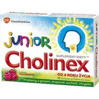 Cholinex Junior, 16 pastylek do ssania