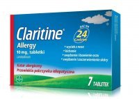 Claritine Allergy , 10 mg, 7 tabletek