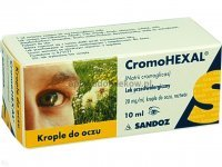 Cromohexal krople do, oczu, 0,02g/1m,l 10ml