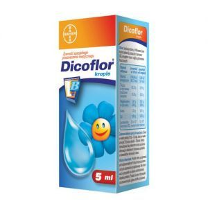 Dicoflor, krople doustne, 5 ml
