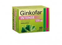 Ginkofar Intense, 120 mg, 60 tabletek