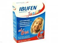 Ibufen Junior, 200 mg, 10 kapsułek