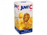 Juvit C, krople, 0,1g/1ml, 40 ml