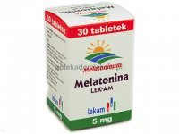 Melatonina, 5 mg, 30 tabletek