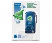 Nicorette Coolmint,4 mg, tabletki do ssania, 20 tabletek