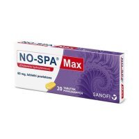 No-Spa Max, 80 mg, 20 tabletek