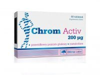 OLIMP Chrom Activ 200 mcg, 60 tabletek