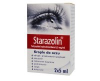 Starazolin 0,05%, krople do oczu,10 ml,( 2x5 ml )