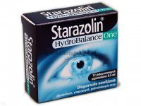 Starazolin HydroBalance One, krople do oczu, 0,5 ml x 12 ampułek