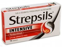 Strepsils Intensive, 16 tabletek do ssania