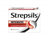 Strepsils Intensive,   36 tabletek do ssania