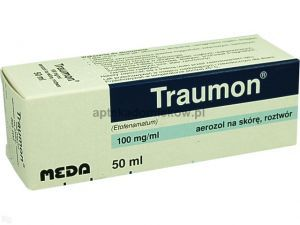Traumon, spray, 0,1g/1ml, 50 ml
