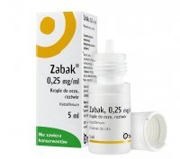 Zabak, krople do oczu 0,25mg/ml, 5ml